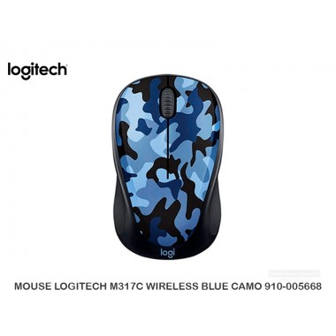 MOUSE LOGITECH M317C WIRELESS BLUECMO 910-005668