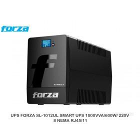 UPS FORZA SL-1012UL SMART UPS 1000VVA/600W/ 220V 8 NEMA RJ45/11