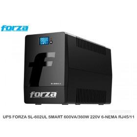 UPS FORZA SL-602UL SMART 600VA/360W 220V 6-NEMA RJ45/11