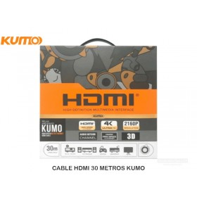 CABLE HDMI 30 METROS KUMO
