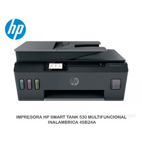 IMPRESORA HP SMART TANK 530 MULTIFUNCIONAL INALAMBRICA 4SB24A