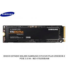 DISCO ESTADO SOLIDO SAMSUNG 970 EVO PLUS 250GB M.2, PCIE 3.0 X4 - MZ-V7S250B/AM