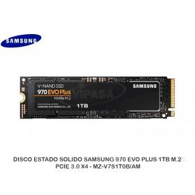 DISCO ESTADO SOLIDO SAMSUNG 970 EVO PLUS 1TB M.2, PCIE 3.0 X4 - MZ-V7S1T0B/AM