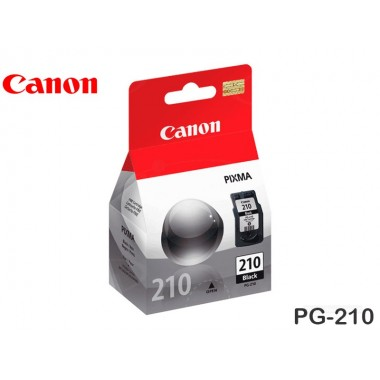 TINTA CANON PG-210 BLACK 9ML MP250/IP2700
