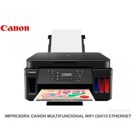 IMPRESORA CANON MULTIFUNCIONAL WIFI G6010 ETHERNET