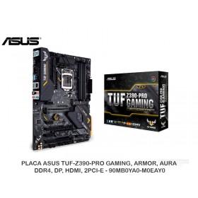 PLACA ASUS TUF-Z390-PRO GAMING, ARMOR, AURA, DDR4, DP, HDMI, 2PCI-E - 90MB0YA0-M0EAY0