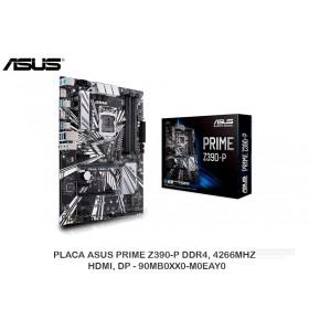 PLACA ASUS PRIME Z390-P DDR4, 4266MHZ, HDMI, DP - 90MB0XX0-M0EAY0