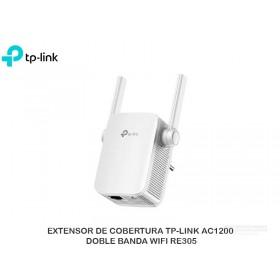 EXTENSOR DE COBERTURA TP-LINK AC1200 DOBLE BANDA WIFI RE305