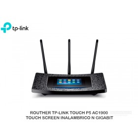 ROUTHER TP-LINK TOUCH P5 AC1900 TOUCH SCREEN INALAMBRICO N GIGABIT