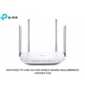 ROUTHER TP-LINK AC1200 DOBLE BANDA INALAMBRICO ARCHER C50