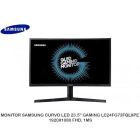 "MONITOR SAMSUNG CURVO LED 23.5"" GAMING LC24FG73FQLXPE 1920X1080 FHD, 1MS"