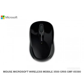 MOUSE MICROSOFT WIRELESS MOBILE 3500 GRIS GMF-00380