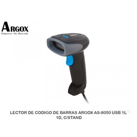 LECTOR DE CODIGO DE BARRAS ARGOX AS-8050 USB 1L, 1D, C/STAND