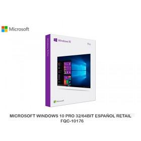 MICROSOFT WINDOWS 10 PRO 32/64BIT ESPAÑOL RETAIL FQC-10176