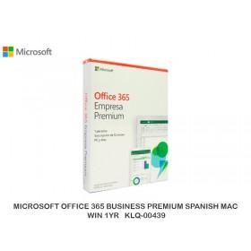 MICROSOFT OFFICE 365 BUSINESS PREMIUM SPANISH MAC WIN 1YR KLQ-00439
