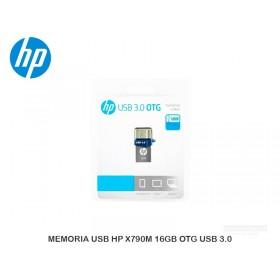 MEMORIA USB HP X790M 16GB OTG USB 3.0
