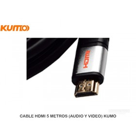 CABLE HDMI 5 METROS (AUDIO Y VIDEO) KUMO
