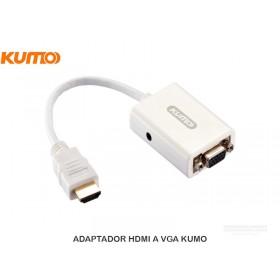 ADAPTADOR HDMI A VGA KUMO