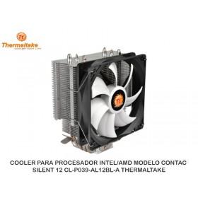 COOLER PARA PROCESADOR INTEL/AMD MODELO CONTAC SILENT 12 CL-P039-AL12BL-A TERMALTAK