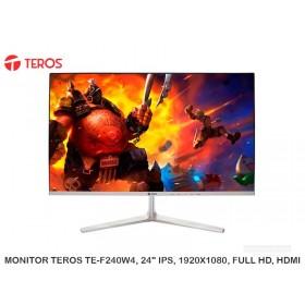 """MONITOR TEROS TE-F240W4, 24"""" IPS, 1920X1080, FULL HD, HDMI"""