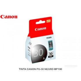 TINTA CANON PG-30 NEGRO MP190