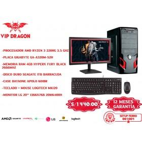 PC COMPUTADORA VIP DRAGON SETUP FERRO 001004