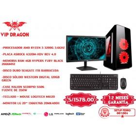 PC COMPUTADORA VIP DRAGON SETUP FERRO 001006