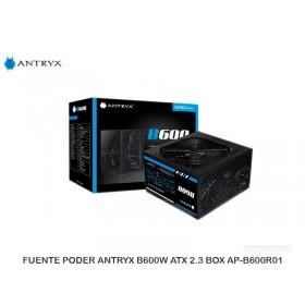 FUENTEPODER ANTRYXB600WATX2.3BOXAP-B600R01