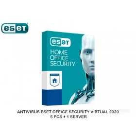 ANTIVIRUS ESET OFFICE SECURITY VIRTUAL 2020 5 PCS + 1 SERVER
