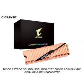 DISCO ESTADO SOLIDO (SSD) GIGABYTE 500GB AORUS NVME GEN4 GP-ASM2NE6500GTTD