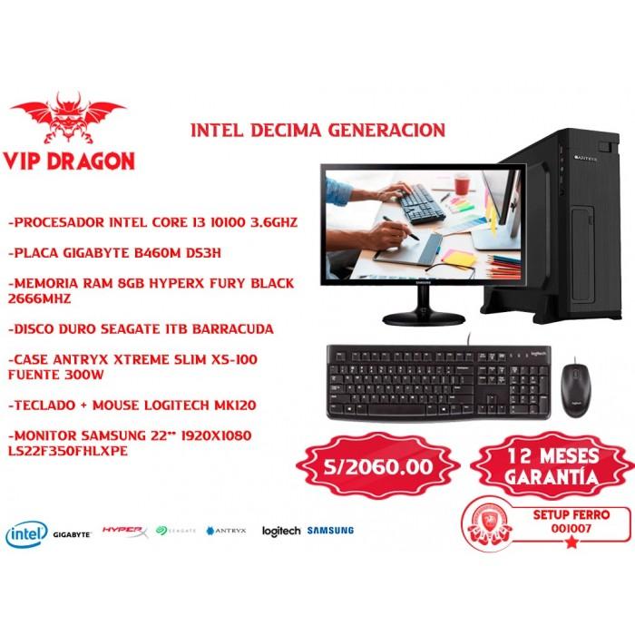 PC COMPUTADORA VIP DRAGON SETUP FERRO 001007