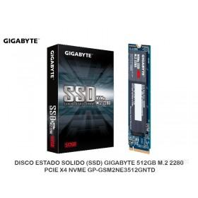 DISCO ESTADO SOLIDO (SSD) GIGABYTE 512GB M.2 2280 PCIE X4 NVME GP-GSM2NE3512GNTD
