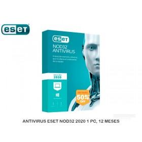 ANTIVIRUS ESET NOD32 2020 1 PC, 12 MESES