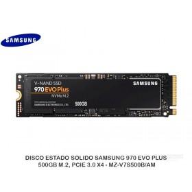 DISCO ESTADO SOLIDO SAMSUNG 970 EVO PLUS 500GB M.2, PCIE 3.0 X4 - MZ-V7S500B/AM