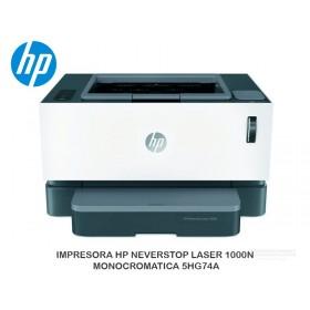 IMPRESORA HP NEVERSTOP LASER 1000N MONOCROMATICA 5HG74A