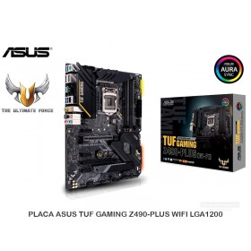 PLACA ASUS TUF GAMING Z490-PLUS WIFI LGA1200