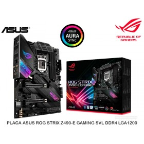 PLACA ASUS ROG STRIX Z490-E GAMING SVL DDR4 LGA1200