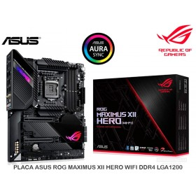 PLACA ASUS ROG MAXIMUS XII HERO WIFI DDR4 LGA1200
