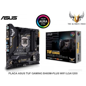 PLACA ASUS TUF GAMING B460M-PLUS WIFI LGA1200