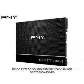 DISCO ESTADO SOLIDO SSD PNY 250GB BLACK SSD7CS900-250-RB