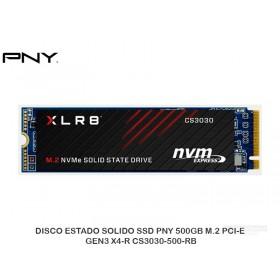 DISCO ESTADO SOLIDO SSD PNY 500GB M.2 PCI-E GEN3 X4-R CS3030-500-RB