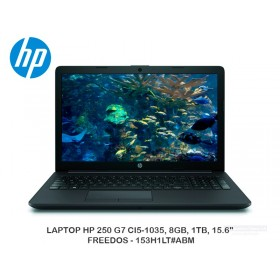 "LAPTOP HP 250 G7 CI5-1035, 8GB, 1TB, 15.6"" FREEDOS - 153H1LT ABM"
