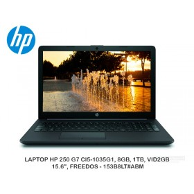 "LAPTOP HP 250 G7 CI5-1035G1, 8GB, 1TB, VID2GB, 15.6"", FREEDOS - 153B8LT#ABM"