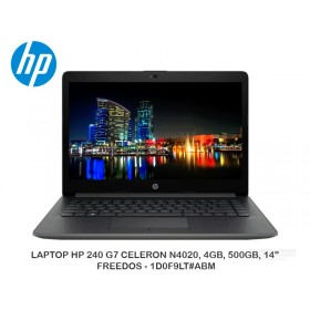 "LAPTOP HP 240 G7 CELERON N4020, 4GB, 500GB, 14"", FREEDOS - 1D0F9LT#ABM"