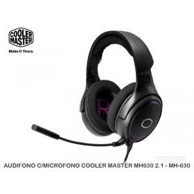 AUDIFONO C/MICROFONO COOLER MASTER MH630 2.1 - MH-630