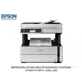 IMPRESORA EPSON MULTIFUNCIONAL ECOTANK ET-M3170 WI-FI, USB, LAN