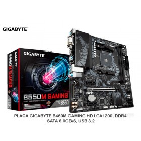 PLACA GIGABYTE B550M GAMING S/V/L DDR4 AM4