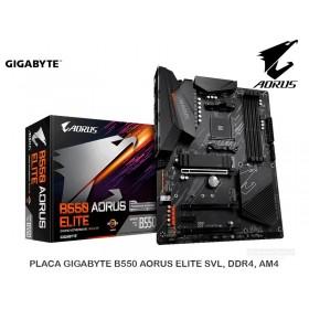 PLACA GIGABYTE B550 AORUS ELITE SVL, DDR4, AM4