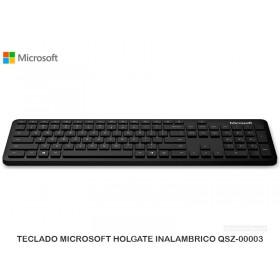 TECLADO MICROSOFT HOLGATE INALAMBRICO QSZ-00003