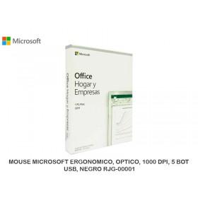 MICROSOFT OFFICE 2019 HOME & BUSSINES 1 PC, WINDOWS/MAC ESPAÑOL T5D-03191L